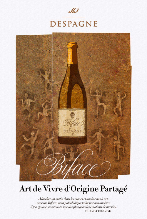 vin blanc biface